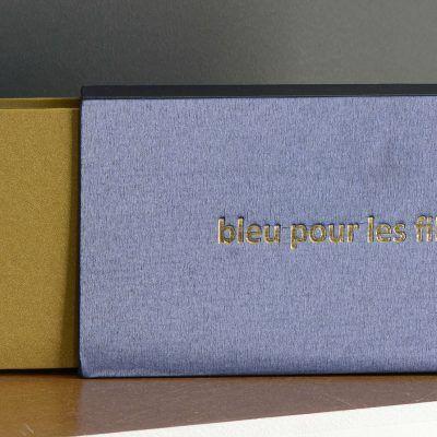 bleu pour les filles, livre d'artiste - 2019